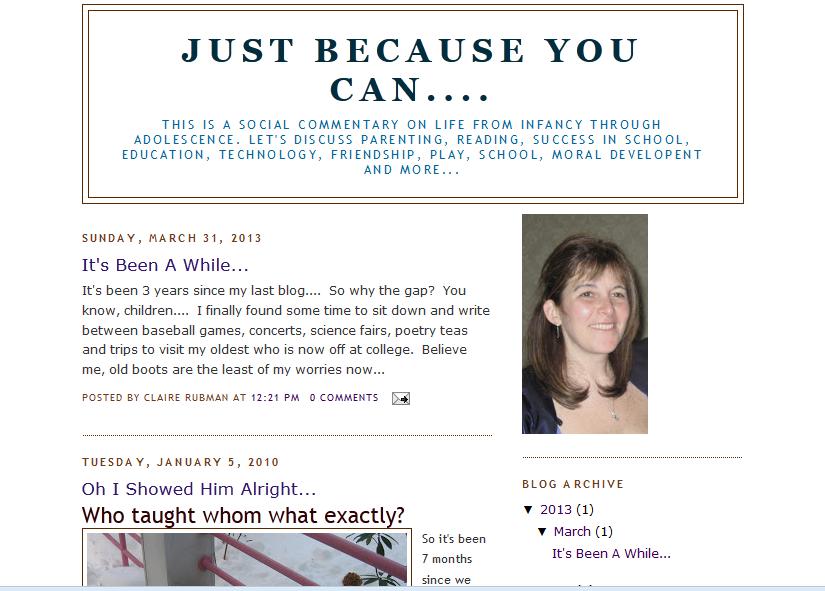 claire blog